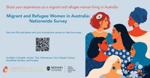 migrant and refugee women survey image